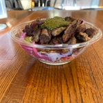 Grain bowl with Shawarma